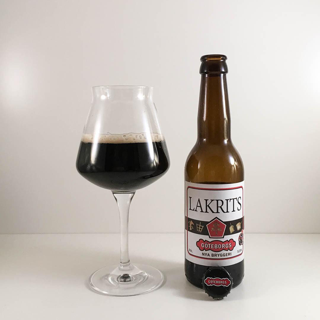 Göteborgs Nya Bryggeri Lakrits är ölen för dig som gillar lakrits. Vad tycker jag själv?