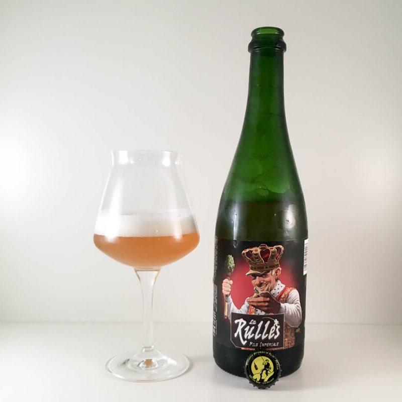 La Rulles Pils Impériale är klassiska belgiska smaker på flaska. En stabil öl utan större krusiduller.