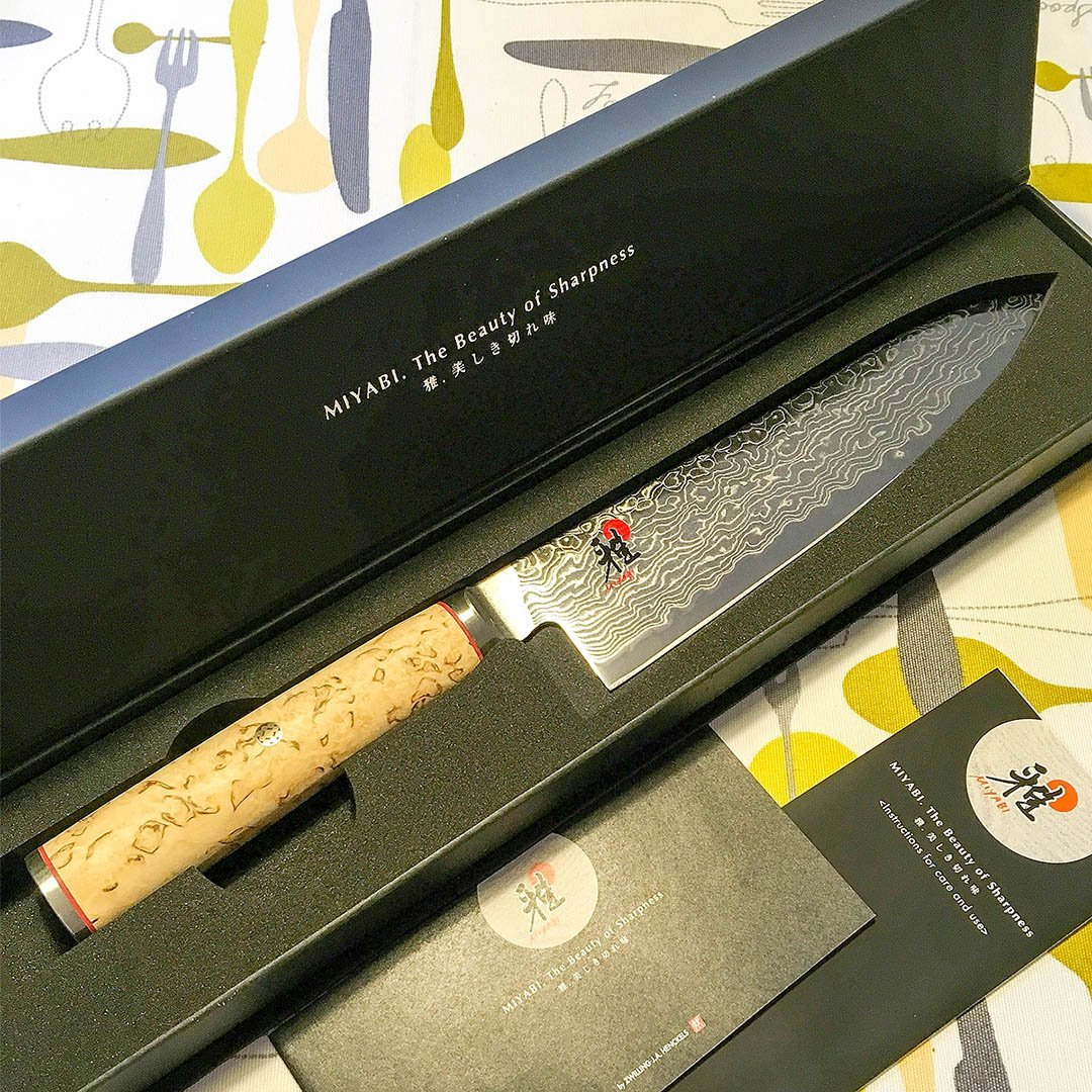 Miyabi MCD 5000 Gyutoh eller jag har köpt en ny japansk kockkniv!