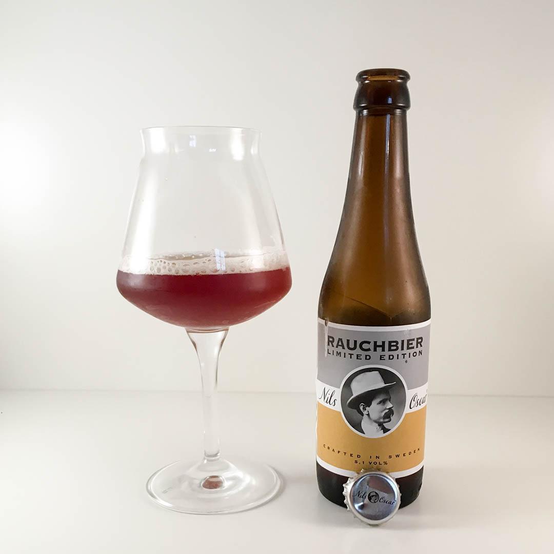 Nils Oscar Rauchbier har en fyllig och trevlig smak. En öl jag tycker om helt enkelt.