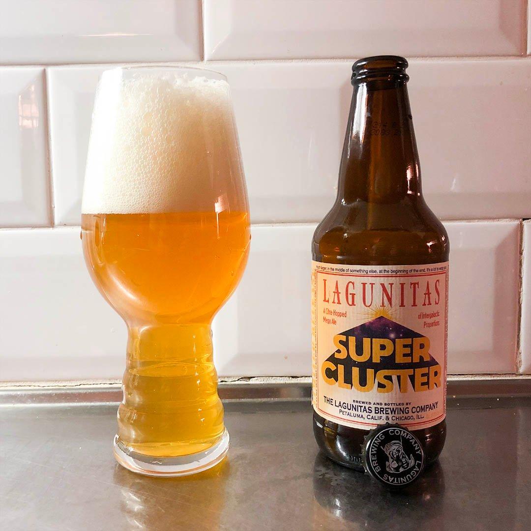 Lagunitas Super Cluster är välbalanserad trevlig dubbel IPA jag främst dricker som sällskapsdryck.