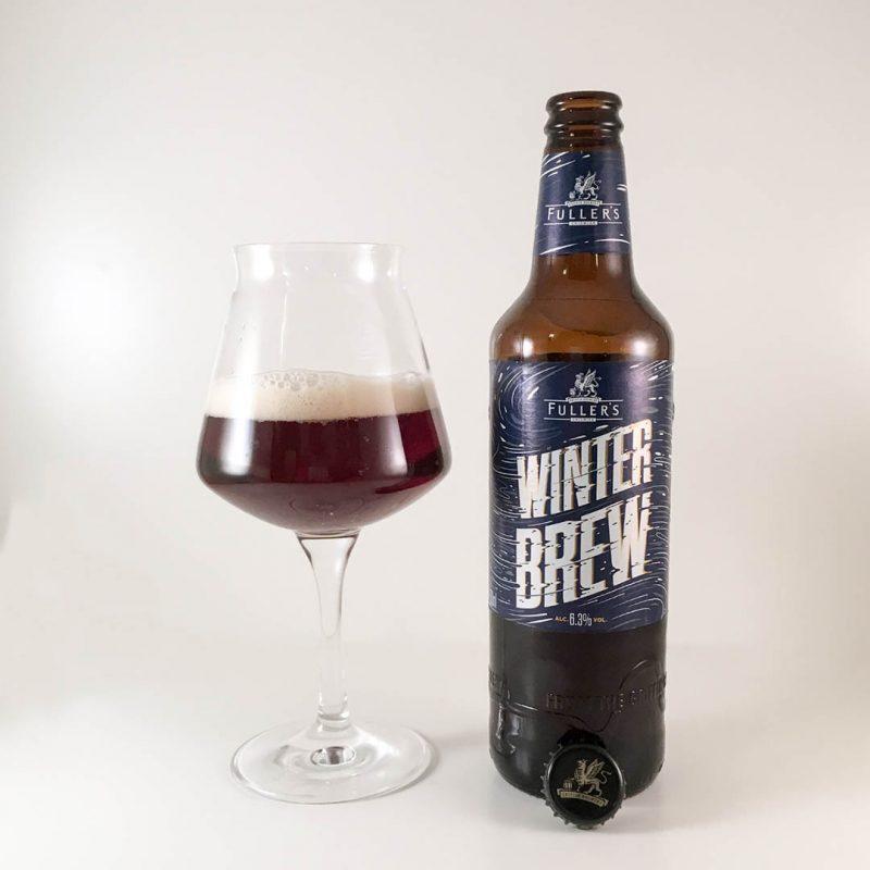 Fullers Winter Brew har doft och smak av fruktkaka. Den har också en lite bitter ton i smaken.