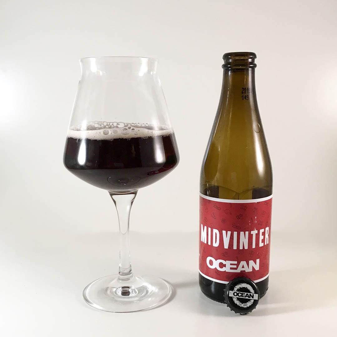Ocean Midvinter är en trevlig julöl att dricka som sällskapsdryck eller till julmaten.