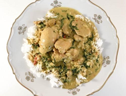 Palak chicken – Recept på lättlagad middag