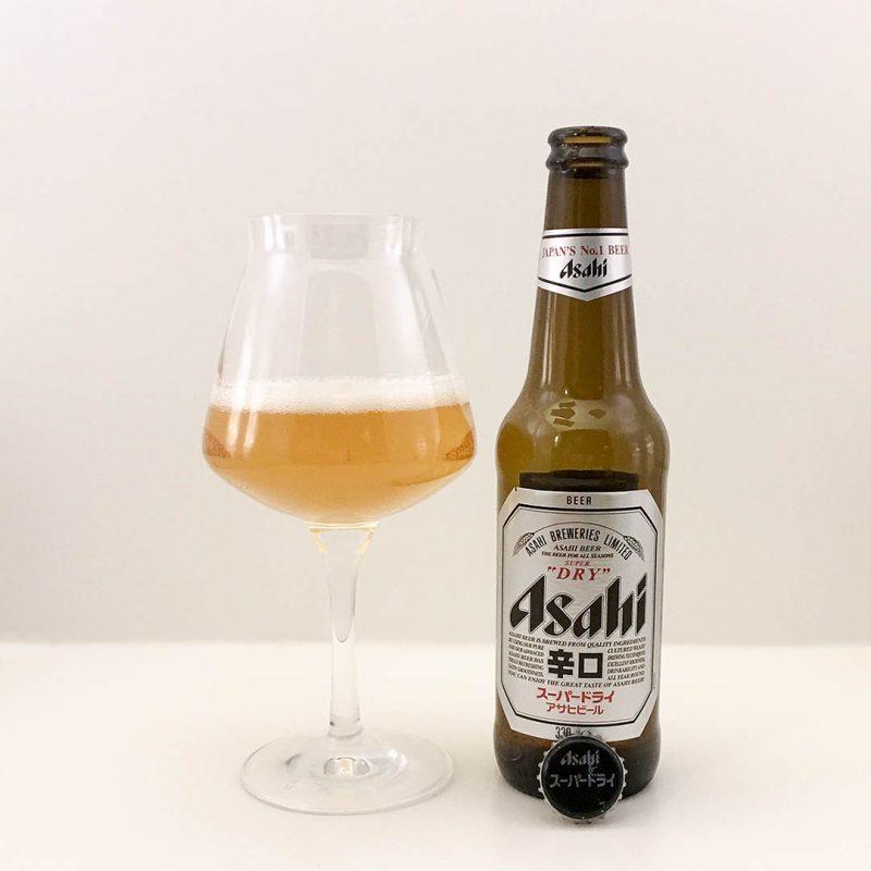 Asahi Super Dry har dominerande smak av majs. Det blir som att dricka Kellogs cornflakes i flytande form.
