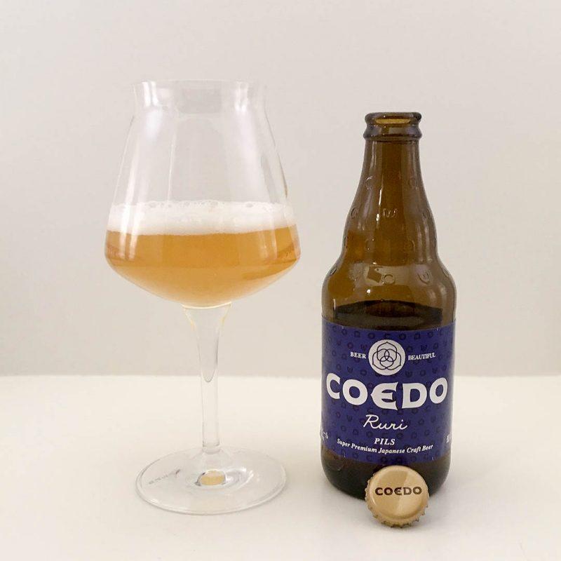 Coedo Ruri är japansk öl av stilen pilsner. Smakar det den bra?