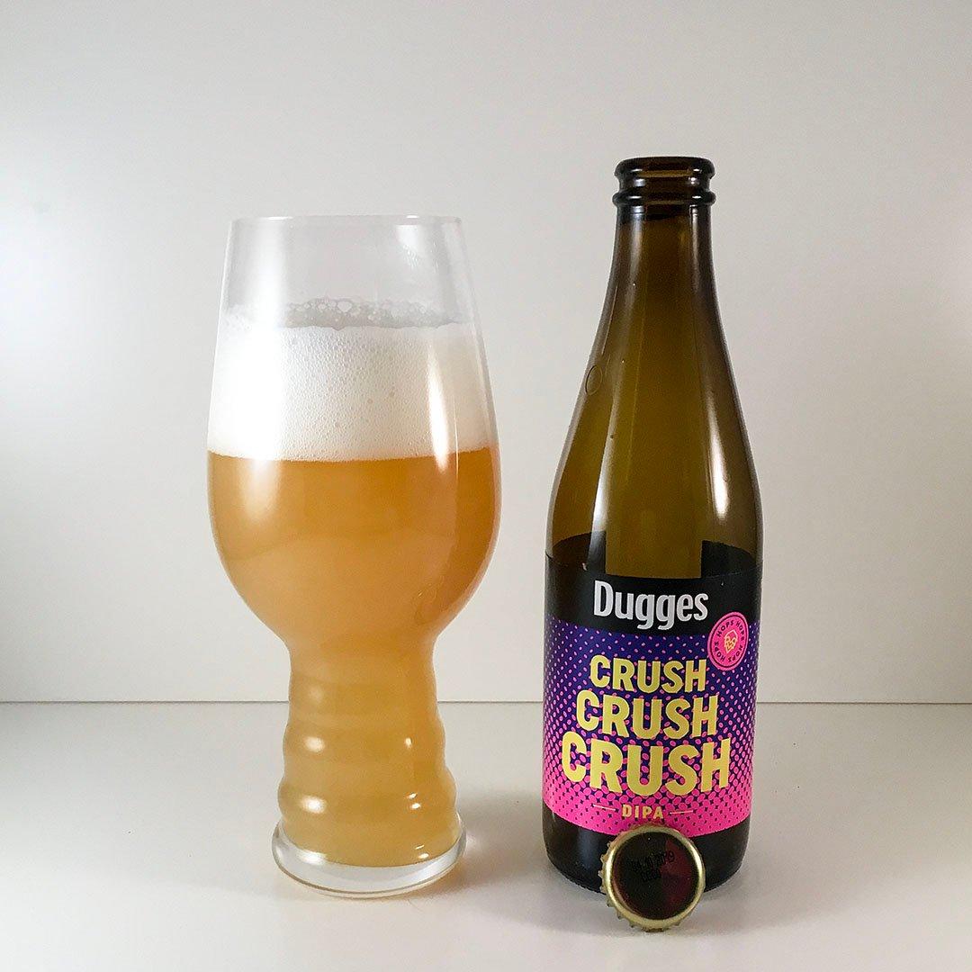Dugges Crush Crush Crush har tropiska smaker på flaska. Smakar det bra?