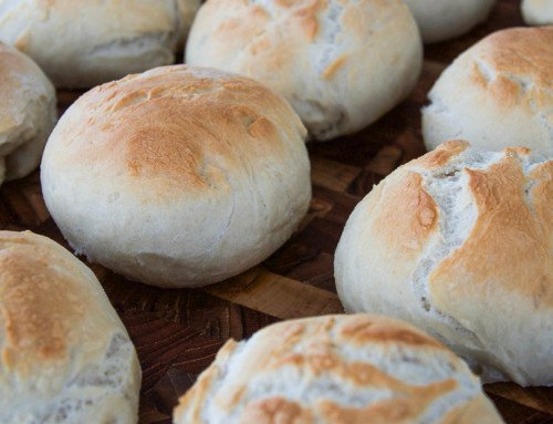 Enkla frallor – Recept på lättbakat bröd