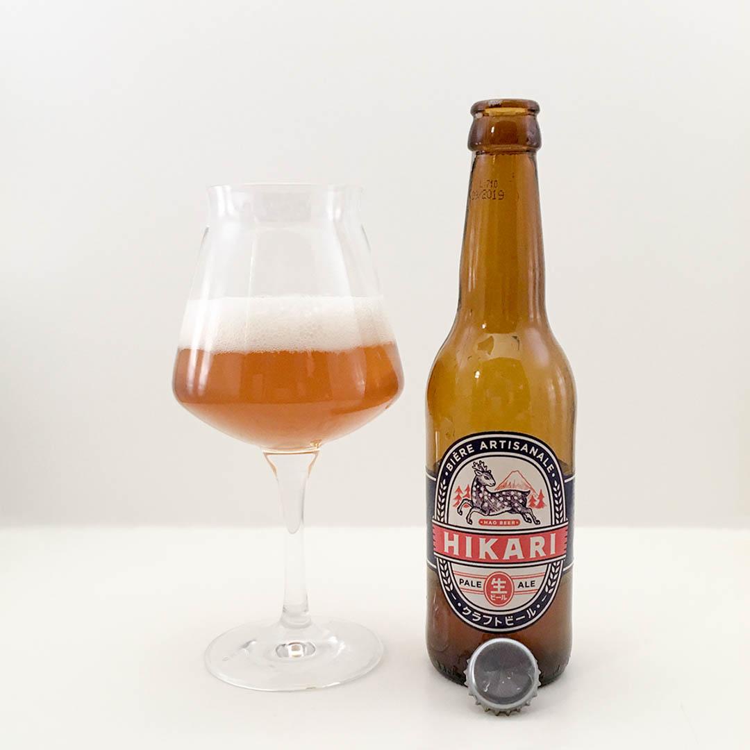 Hikari Pale Ale från Hao Beers är som en aktiv vulkan av dåliga dofter och smaker.