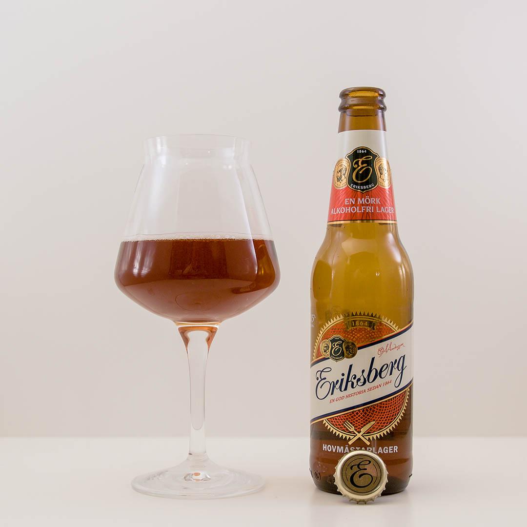 Eriksberg Hovmästarlager är smakfull alkoholfri öl. Denna kan jag köpa igen.
