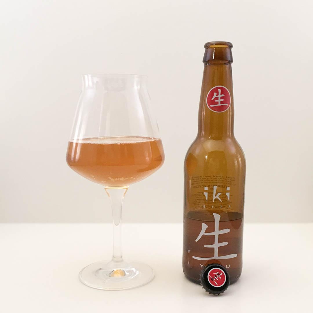 iKi Beer Yuzu har smaker jag inte har erfarenhet utav. Det kanske smakar bra ändå?