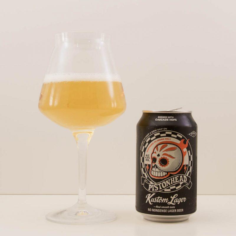 Pistonhead Kustom Lager ger inga bestående intryck. Det är en okej öl men inte mer än så.