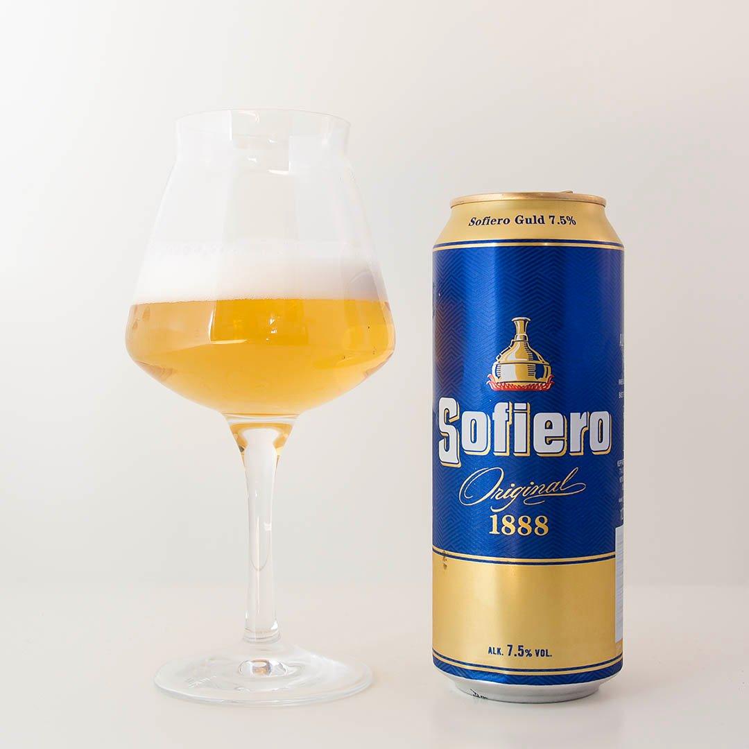 Sofiero Guld 7,5% är alkoholistvarning på burk. Nej denna öl klarar jag inte av att dricka upp.