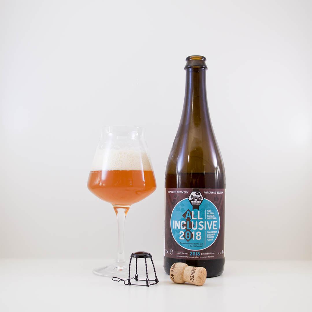 De Plukker All Inclusive IPA 2018 smakar inte som en IPA. Denna är för mig en belgisk ale.