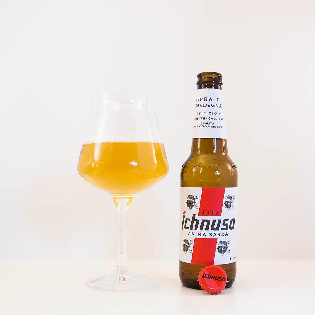 Ichnusa Anima Sarda är en helt okej öl. Men inte mer än så.