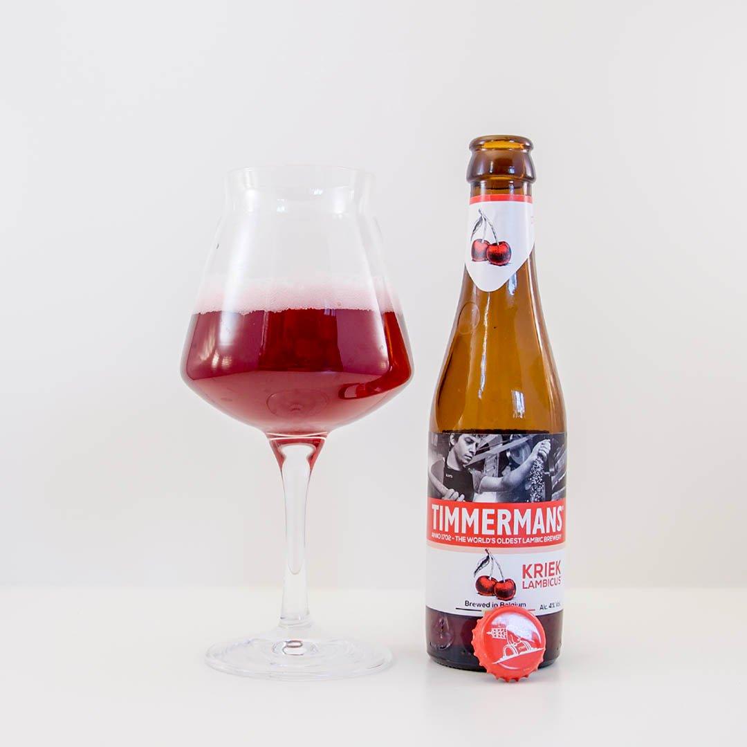 Timmermans Kriek Lambicus har tydlig körsbärssmak. Gillar du körsbär, så kan detta vara ölen för dig.
