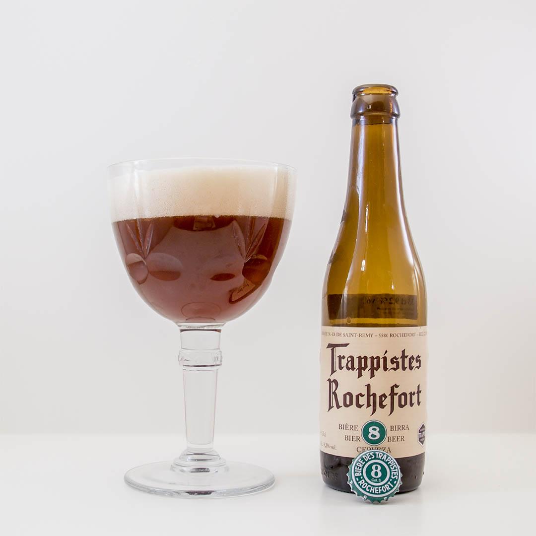 Trappistes Rochefort 8 är nästan lika god som storebror. Det gör mig lite irriterad.