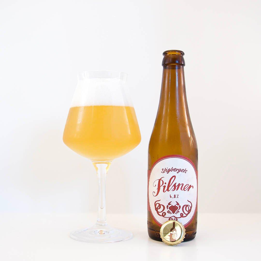 Stigbergets Pilsner har en balanserad doft och smak. Den passar att dricka som sällskapsdryck eller till mat.