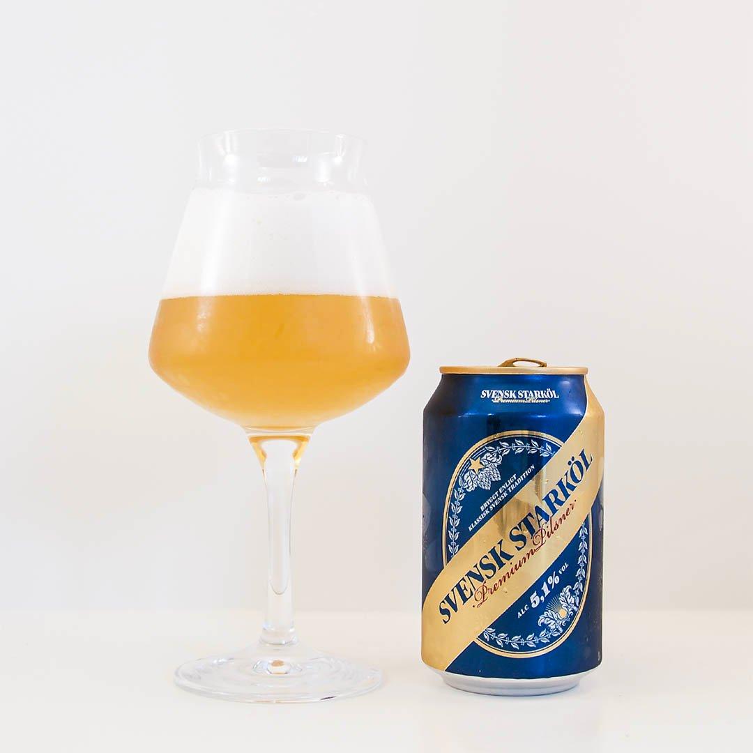 Svensk Starköl 5,1% från Åbro Bryggeri är ölen som sätter mina fördomar på prov.