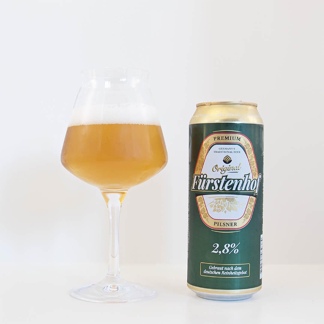 Fürstenhof Original Pilsner 2,8 är en öl i mängden och förvänta dig inga stordåd.