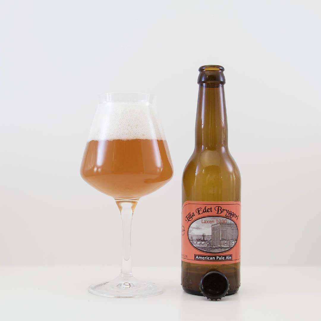 Laxen 1200 från Lilla Edets Bryggeri smakar hembryggd och jag drack inte upp den.