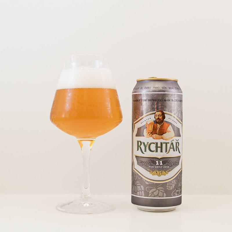 Rychtar från Pivovar Protivin har tråkig och spretig smak. Jag har druckit godare öl av stilen pilsner.