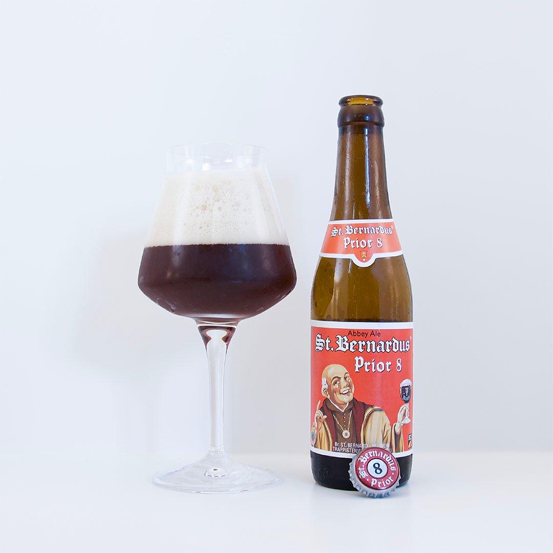 St. Bernardus Prior 8 är lagom komplex med balanserad doft och smak.