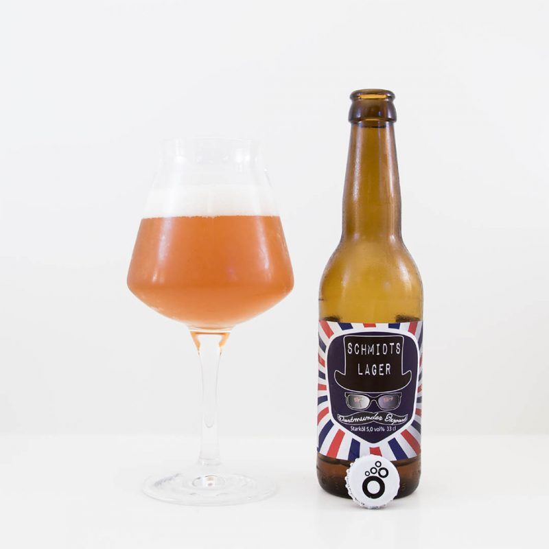 Schmidts Lager från Brygghus 19 är helt okej öl att dricka som sällskapsdryck eller till husmanskost och grillat.