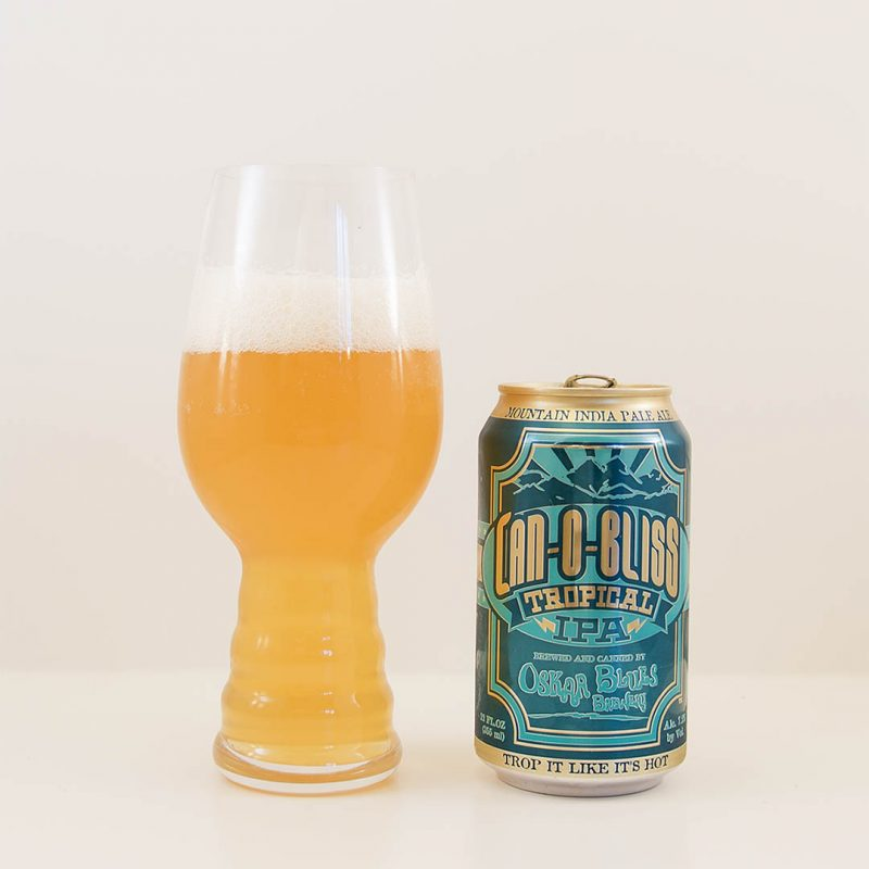 Can-O-Bliss Tropical IPA från Oskar Blues har trevligt doft och smak.