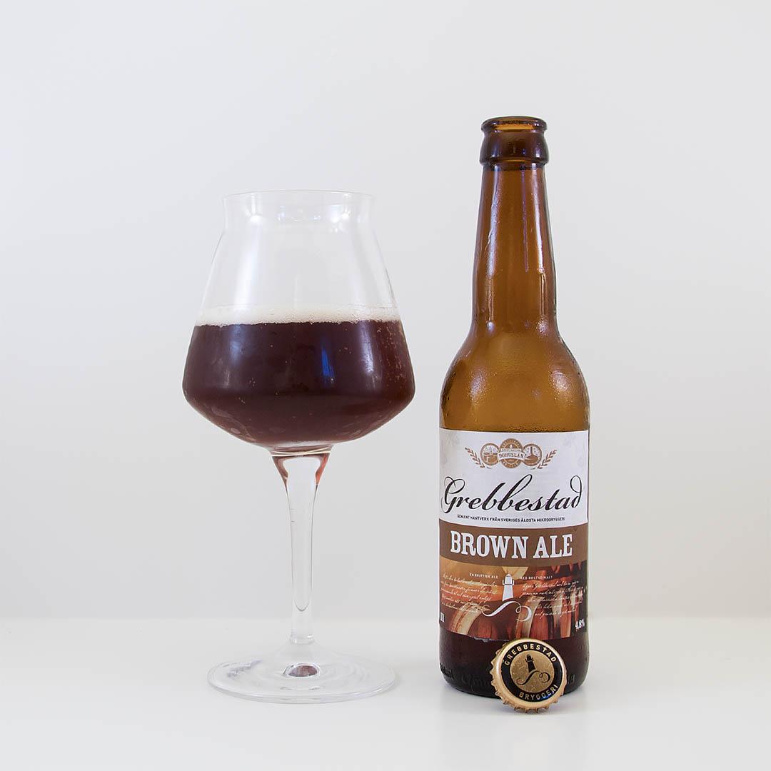 Brown Ale från Grebbestads Bryggeri är helt okej öl. Men inte mer än så om du frågar mig.