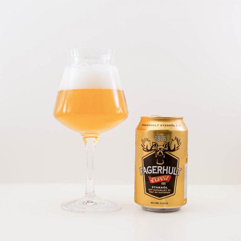 Fagerhult Export får mig inte att hoppa av lycka. Det är ingen öl jag köper igen.