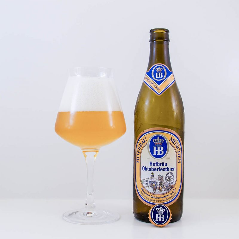 Hofbräu Oktoberfestbier är helt okej oktoberfestöl. Men jag köper den antagligen inte igen.