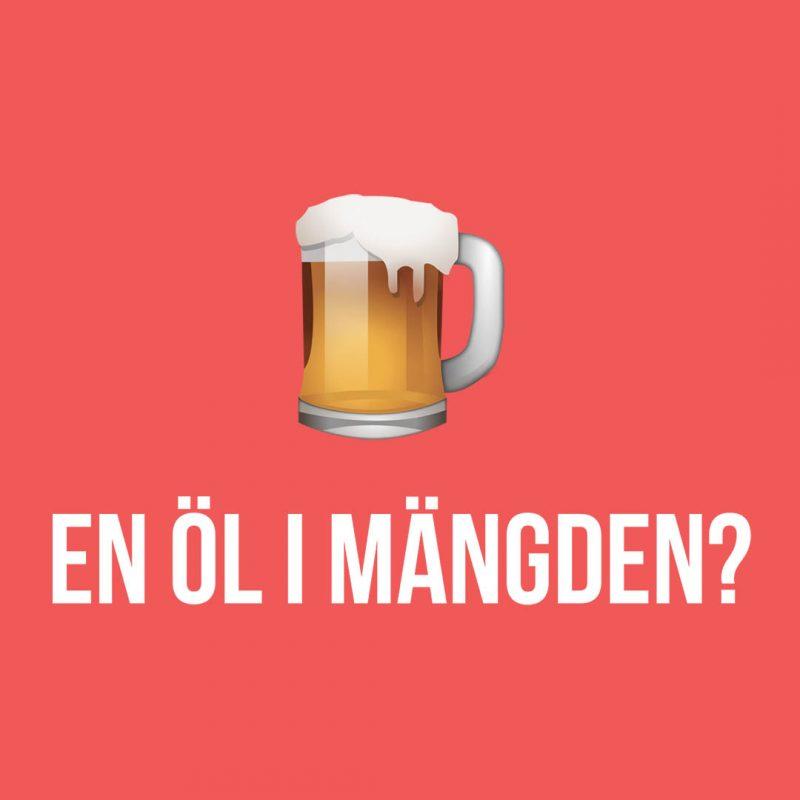En öl i mängden - vad menar jag egentligen med det? Det ska jag reda ut i denna artikel, för svaret är inte så komplicerat.