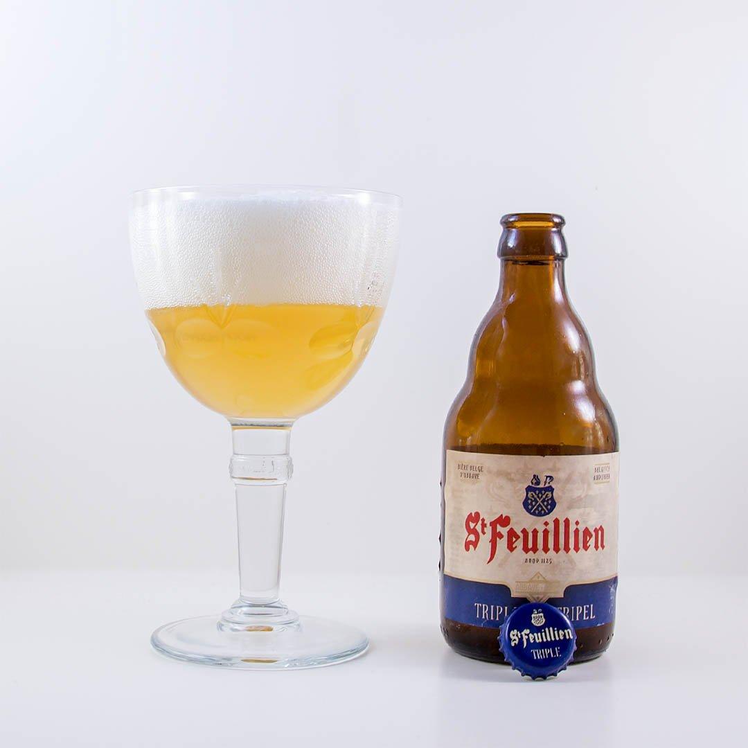 St Feuillien Triple smakar typiskt Belgien och det är en trevlig smak. Men erbjuder inget som överraskar mig.