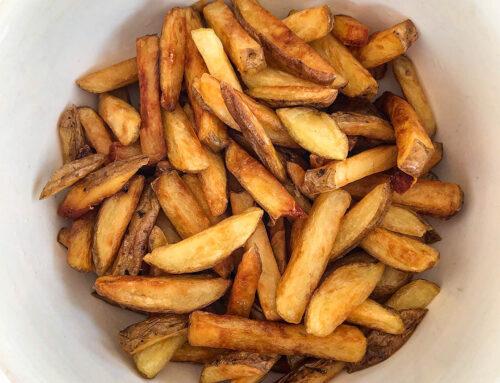Friterad pommes – recept på hemmagjord pommes frites