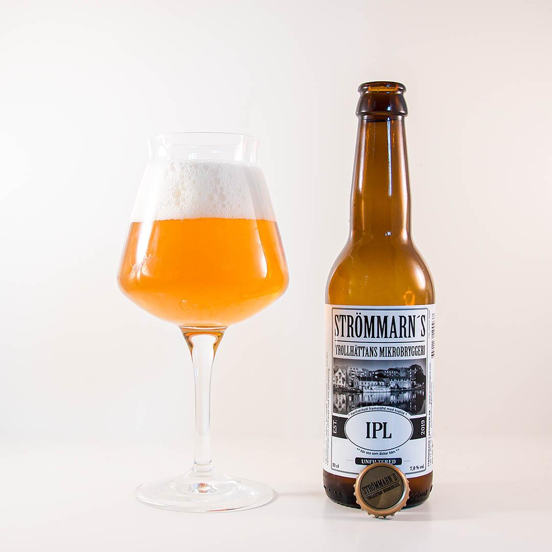 IPL från Strömmarn's Bryggeri är trevlig öl som inte sticker ut.