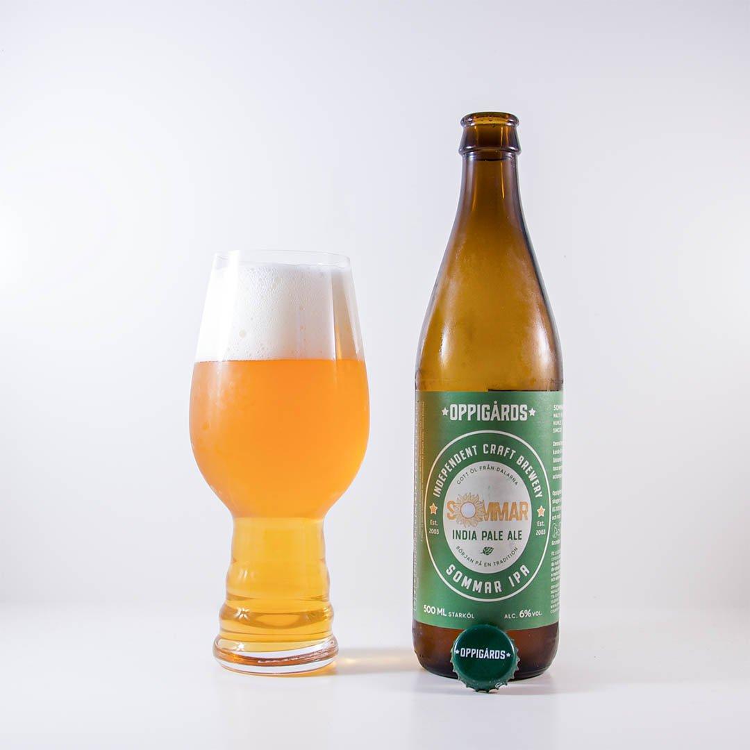 Sommar IPA från Oppigårds Bryggeri är en angenäm öl.