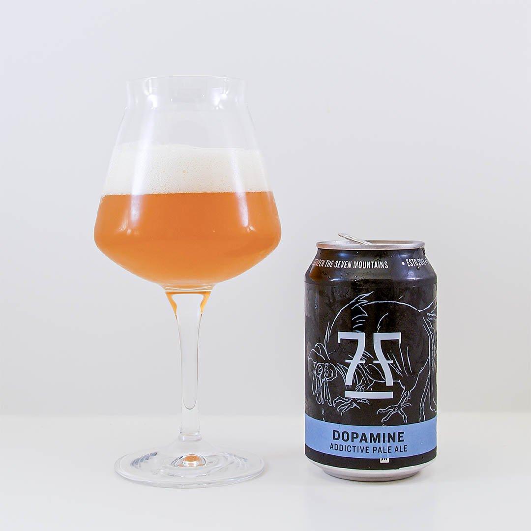 Dopamine Addictive Pale Ale från 7 Fjell Bryggeri är trevlig öl av stilen amerikansk pale ale.
