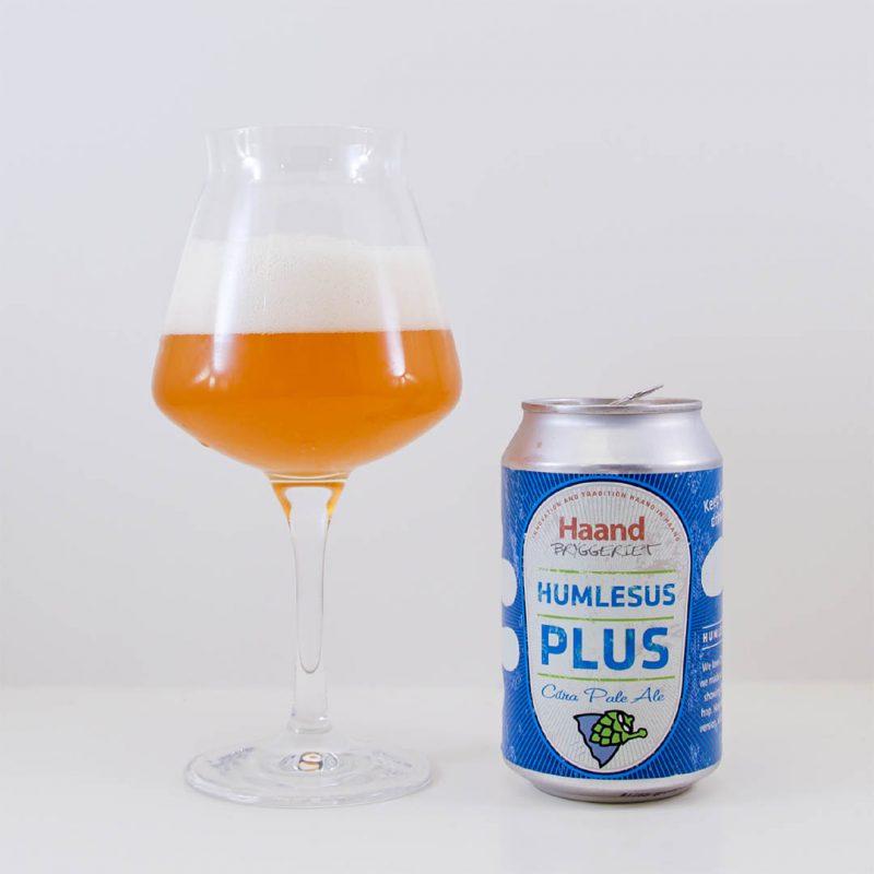 Humlesus Plus från Haandbryggeriet smakar bra med balanserad doft och smak.