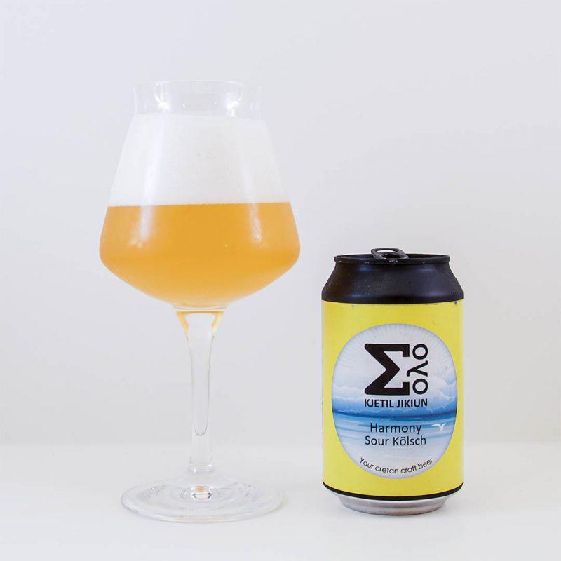 Jikiun Harmony Sour Kölsch är välsmakande öl. Jag vill köpa den igen.