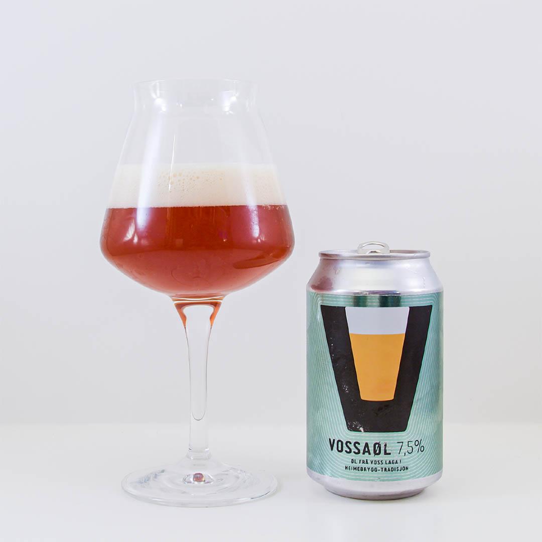 Vossaøl 7,5% från Voss Bryggeri - Öl från Norge som inte imponerar.