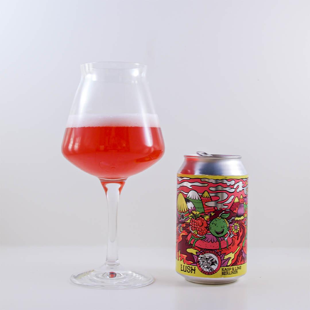 Amundsen Lush Rasp & Lime Berliner är en enkelspårig öl.