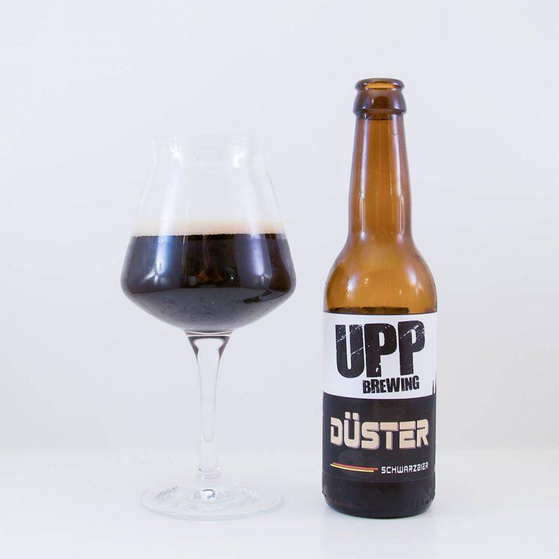 Düster från Upp Brewing går inte hem hos mig. Men det kan vara en öl som kan passa dina smaklökar.