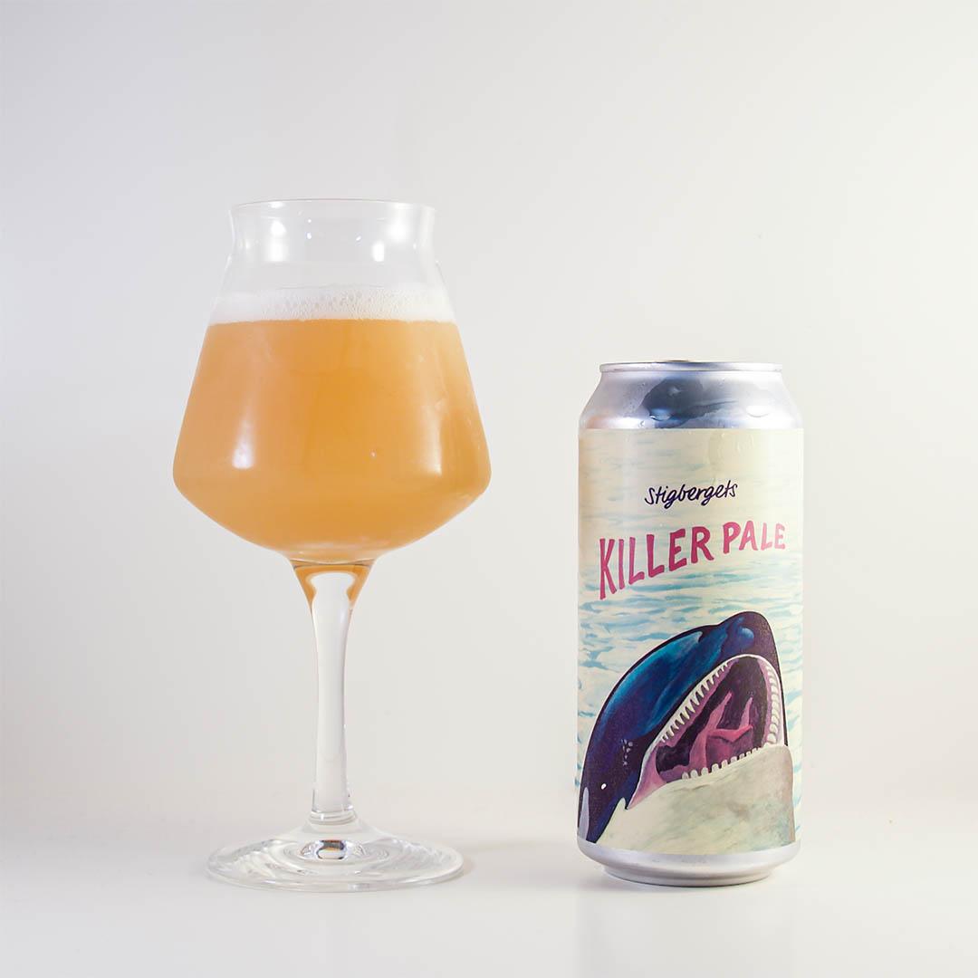 Stigbergets Killer Pale smakar typiskt Stigbergets. Vad menar jag med det egentligen?