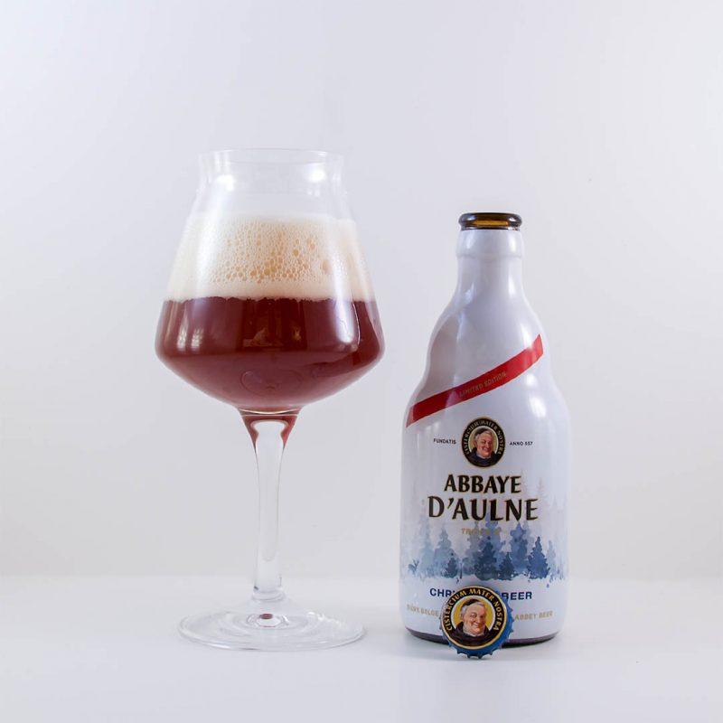 Abbaye d'Aulne Christmas Triple Ale är komplex öl med trevlig doft och smak.