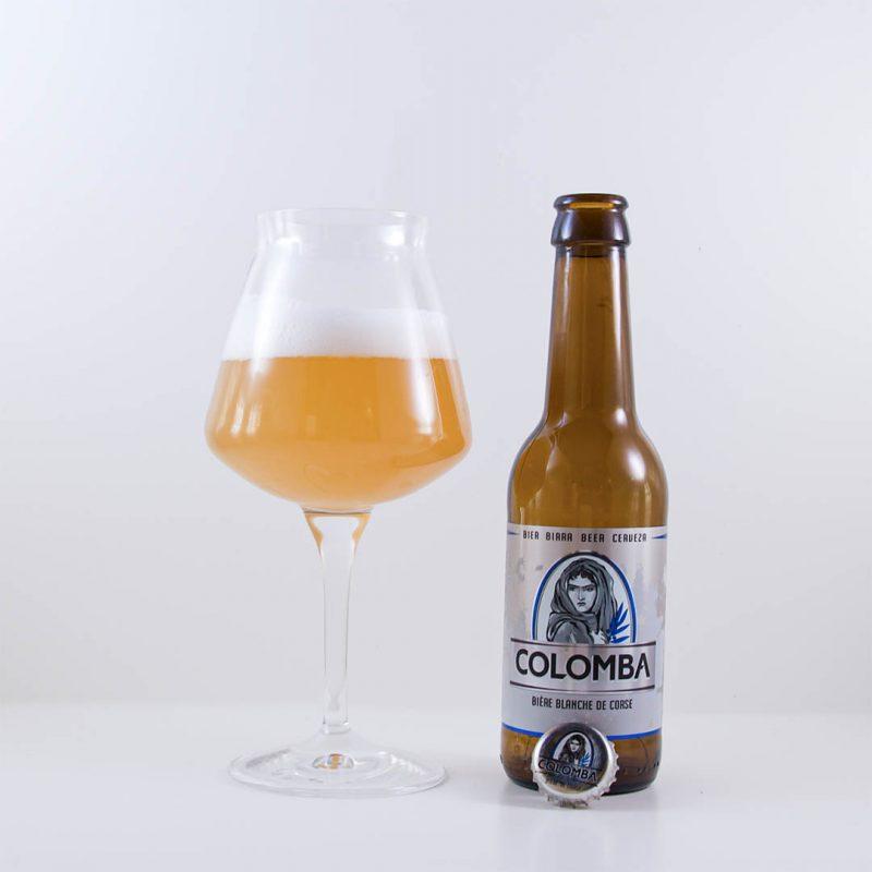 Colomba från Brasserie Pietra - En märklig öl att dricka till den märkliga stunden.