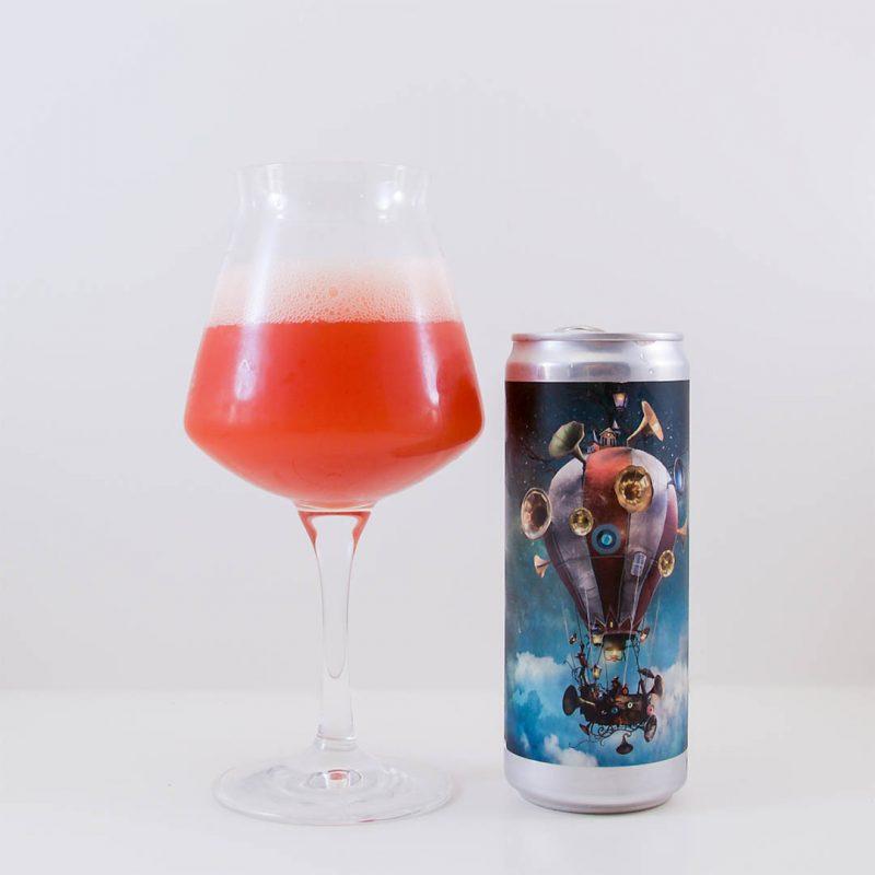 Wizard Gramoballoophone är välsmakande öl av stilen berliner weisse.