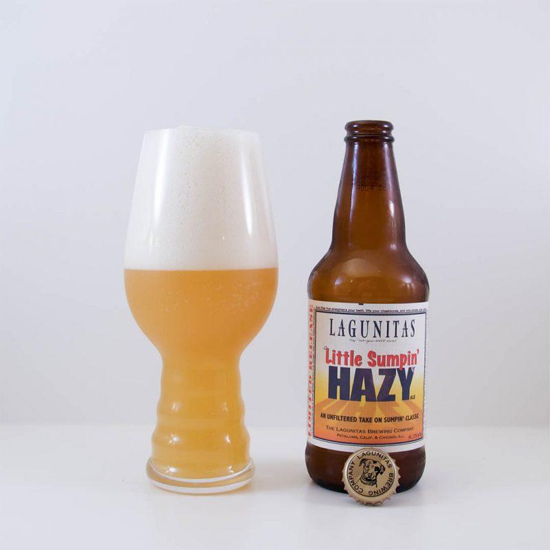 Little Sumpin' Hazy från Lagunitas Brewing Company är helt okej öl. Men inte mer än så.