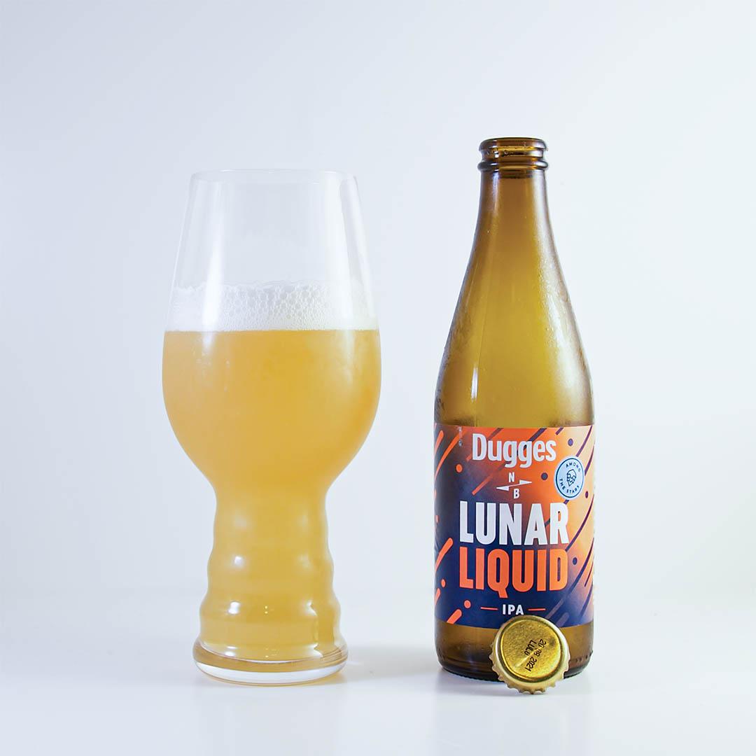 Lunar Liquid från Dugges Bryggeri & North Brewing har trevlig tropisk doft och smak.
