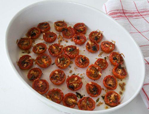 Ugnsbakade tomater – Ta tomaten till nya höjder